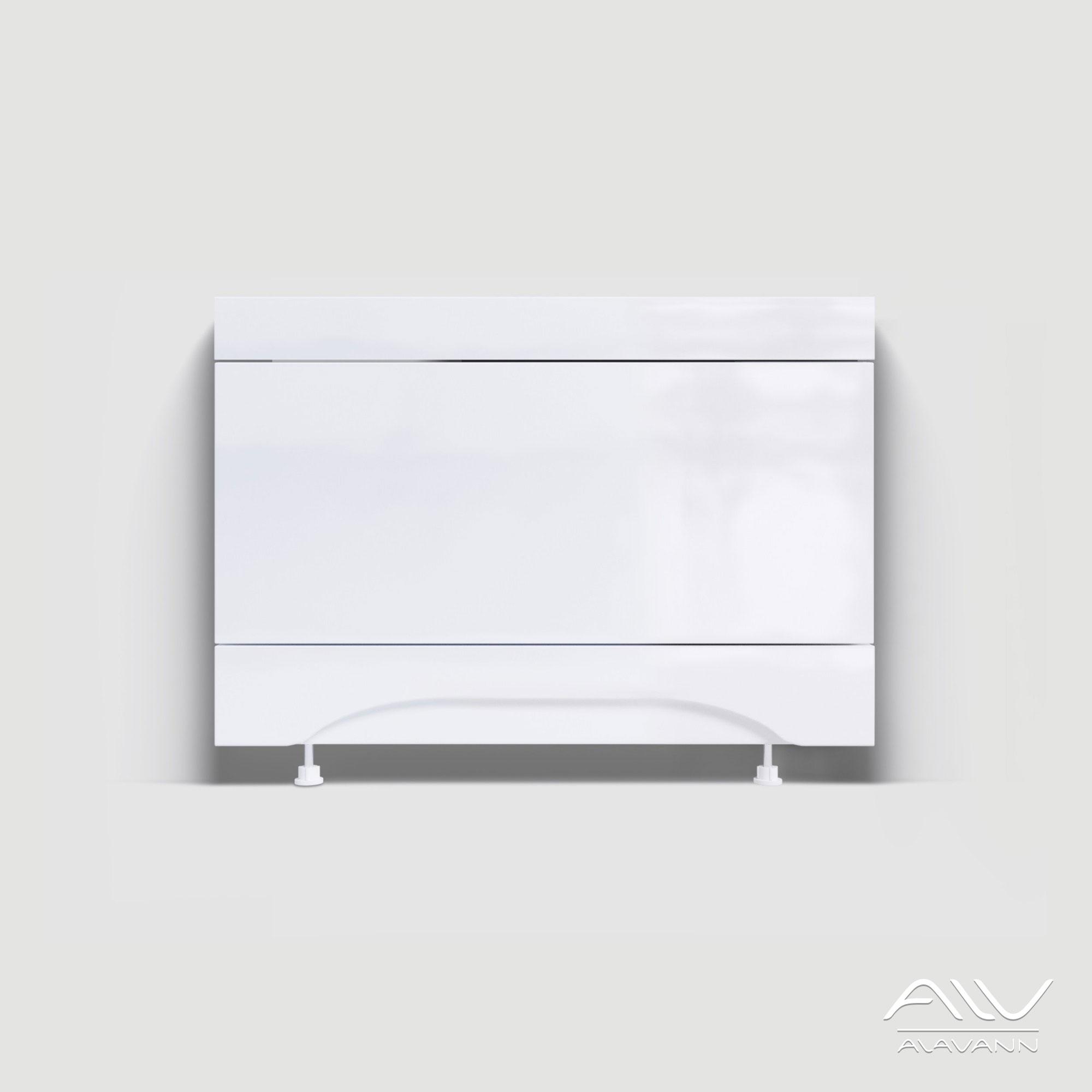 Экран под ванну торцевой 70 см МДФ, цвет белый