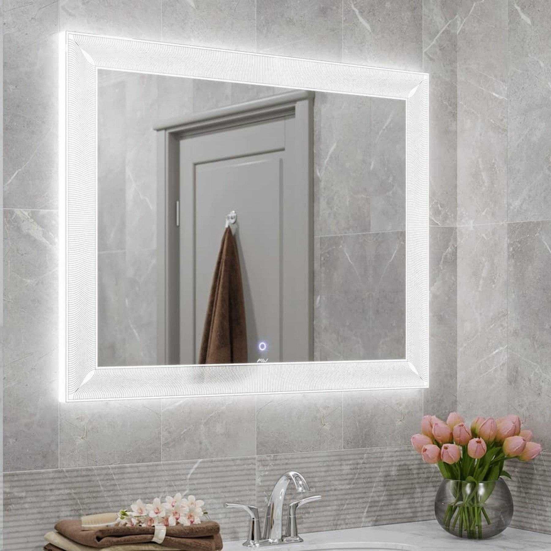 Зеркало с подсветкой Classic 100
