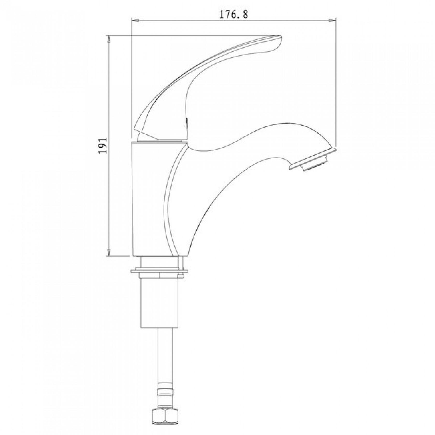 Смеситель Lemark Intense LM5606C для раковины