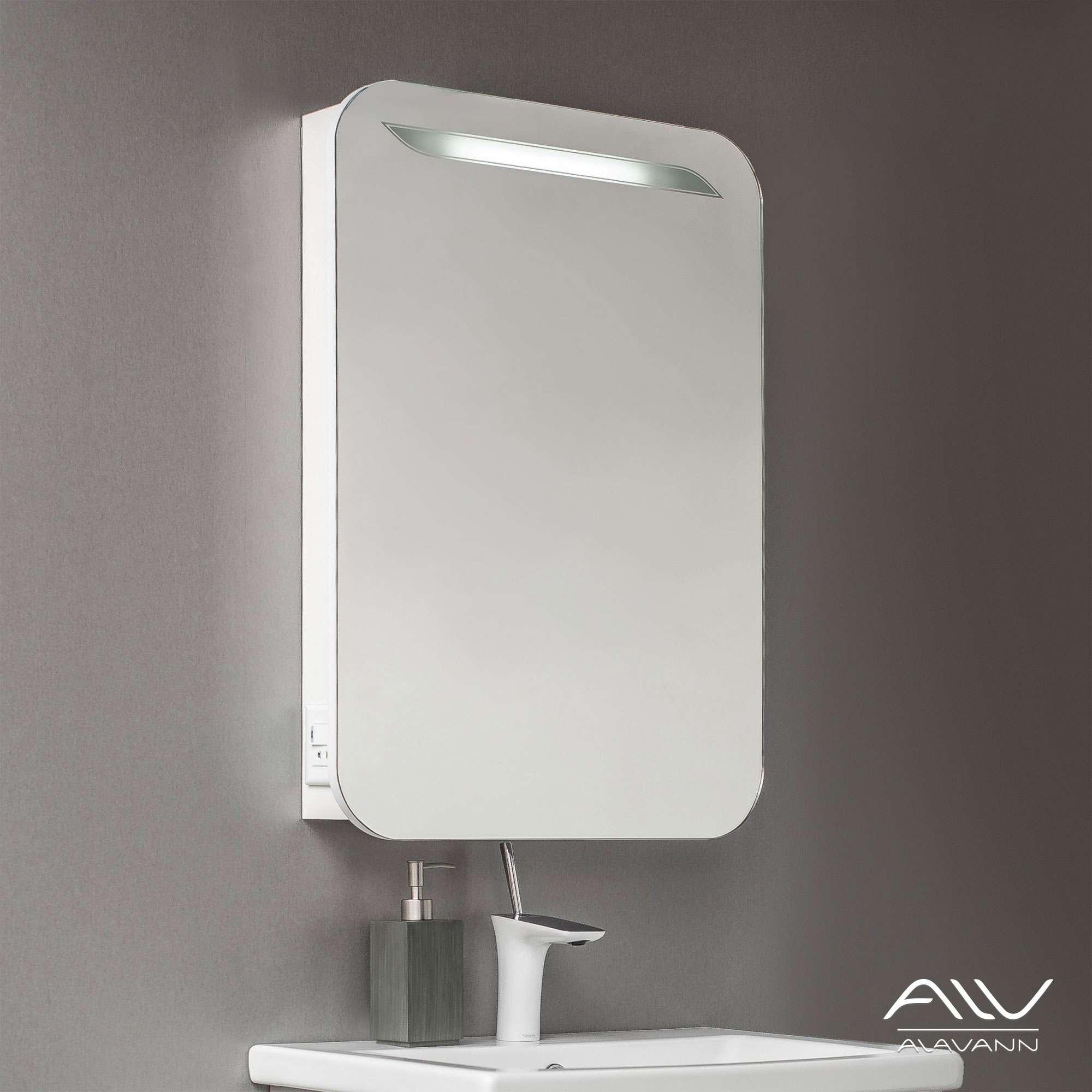 Зеркальный шкаф Alta 55 белый +6 955 руб.
