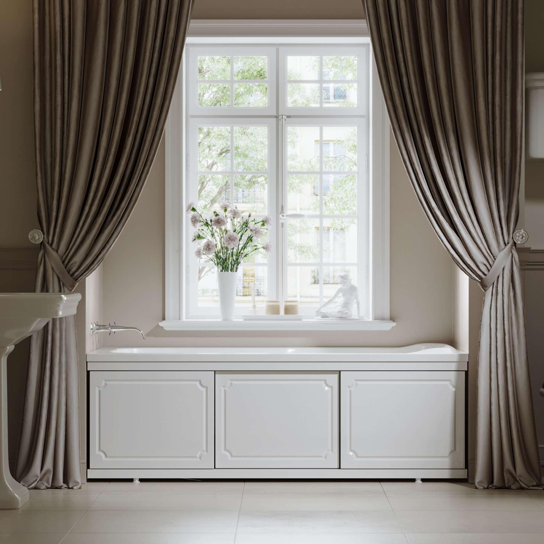 Экран под ванну Ametist 150 см МДФ белый