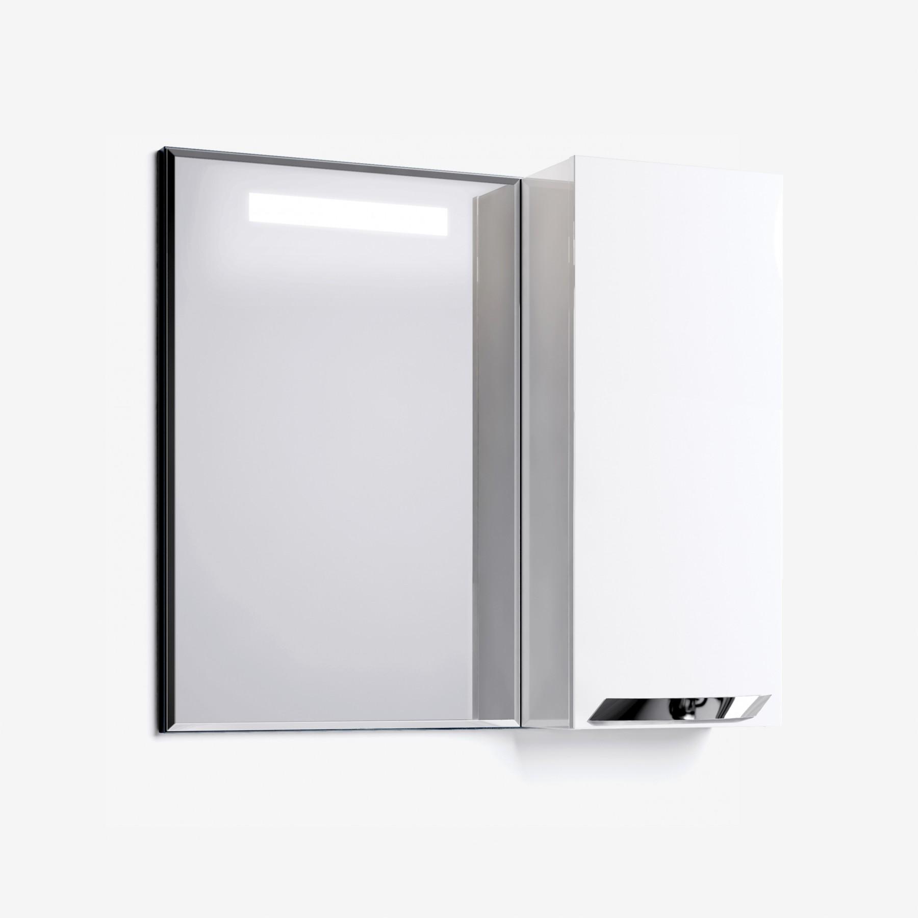 Зеркало-шкаф Elsa 85 белый