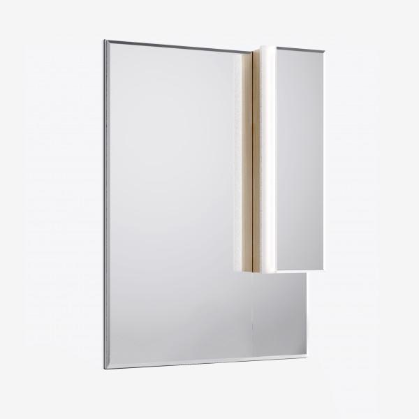 Зеркало-шкаф Praga 75 Дуб корица