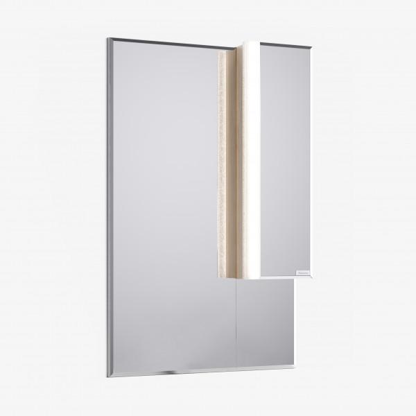 Зеркало-шкаф Praga 65 Дуб корица