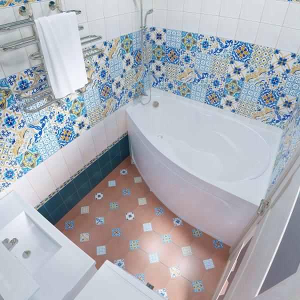 Акриловая ванна Triton Бриз 150x95 левая