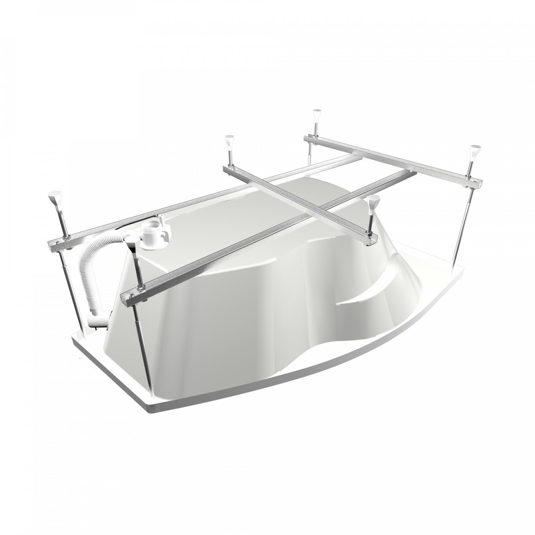 Акриловая ванна Triton Бриз 150x95 правая