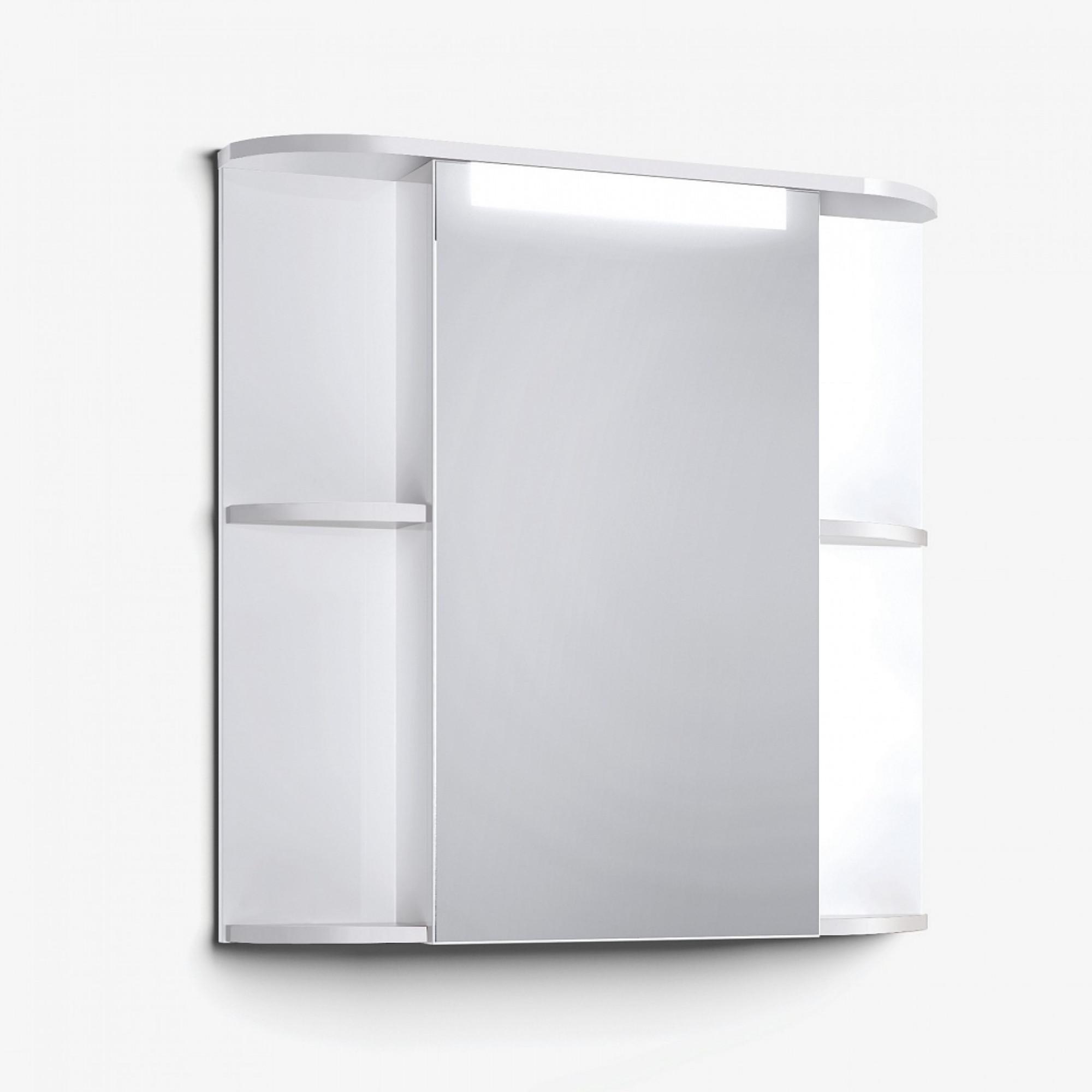 Шкаф зеркальный Latte 75 белый +8 650 руб.