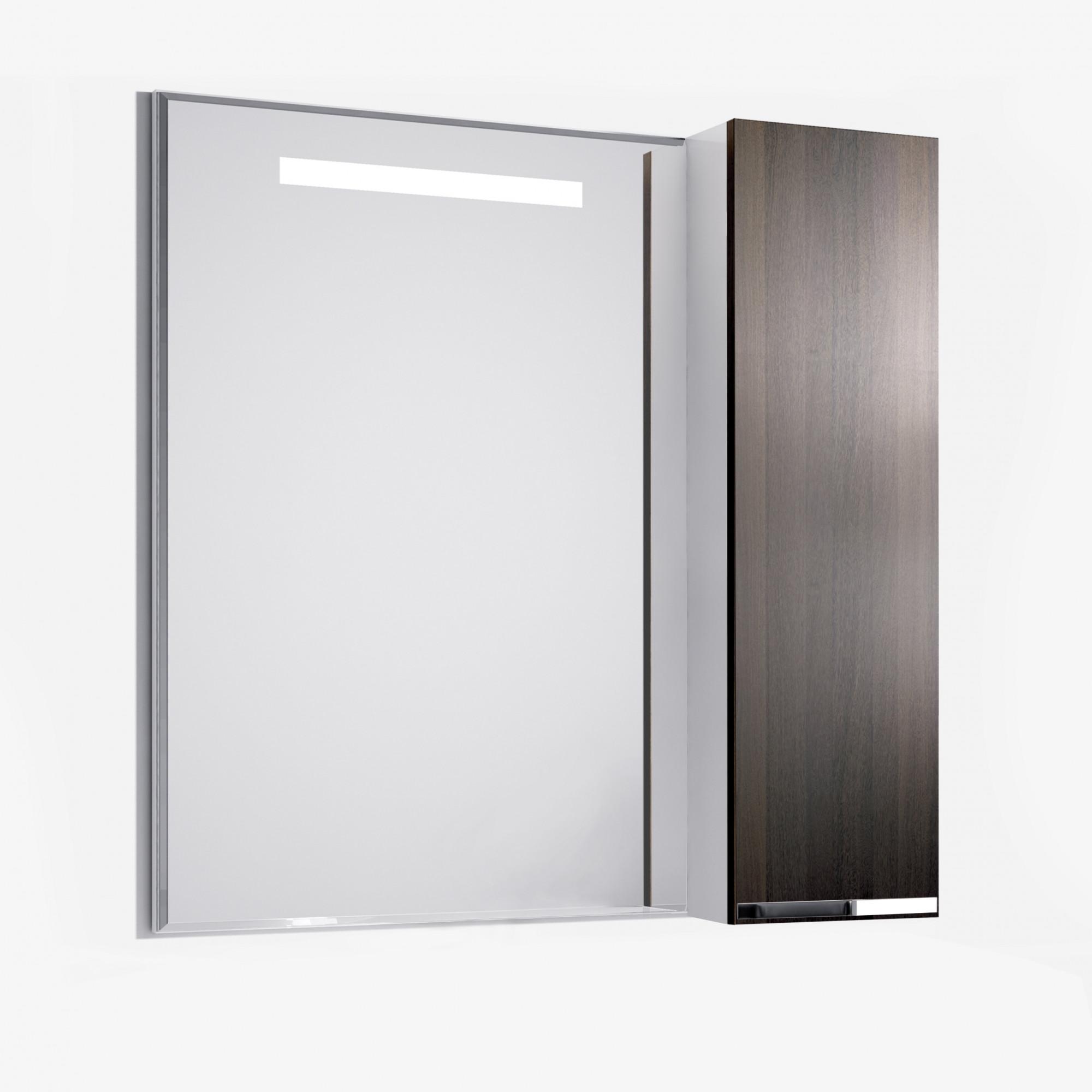 Зеркало-шкаф Latte 90 венге
