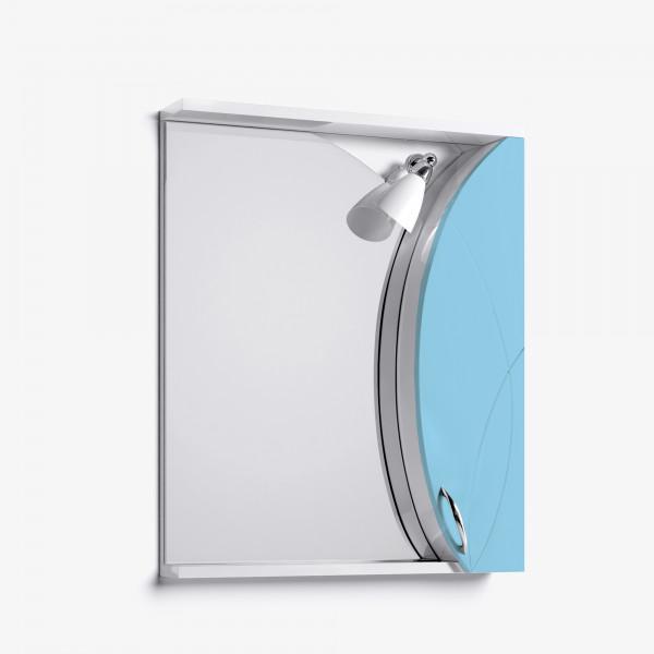 Зеркало-шкаф Флоранс 65 голубой