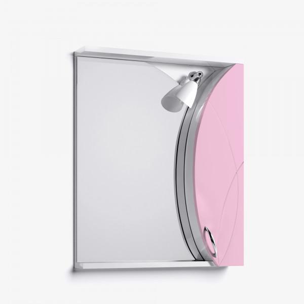 Зеркало-шкаф Флоранс 65 розовый