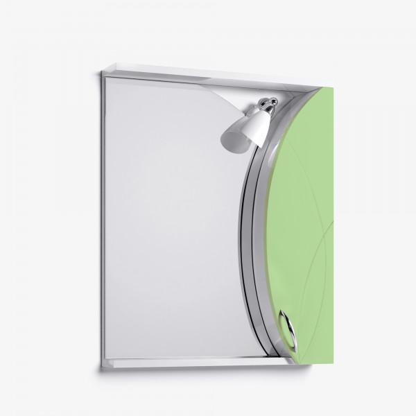 Зеркало-шкаф Флоранс 65 салатовый