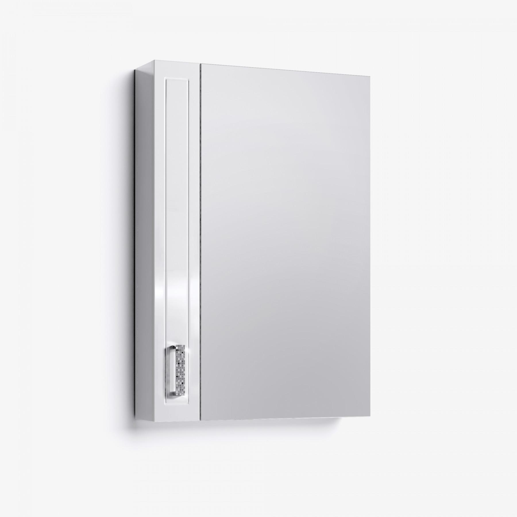 Зеркало-шкаф Vittoria 50 белый