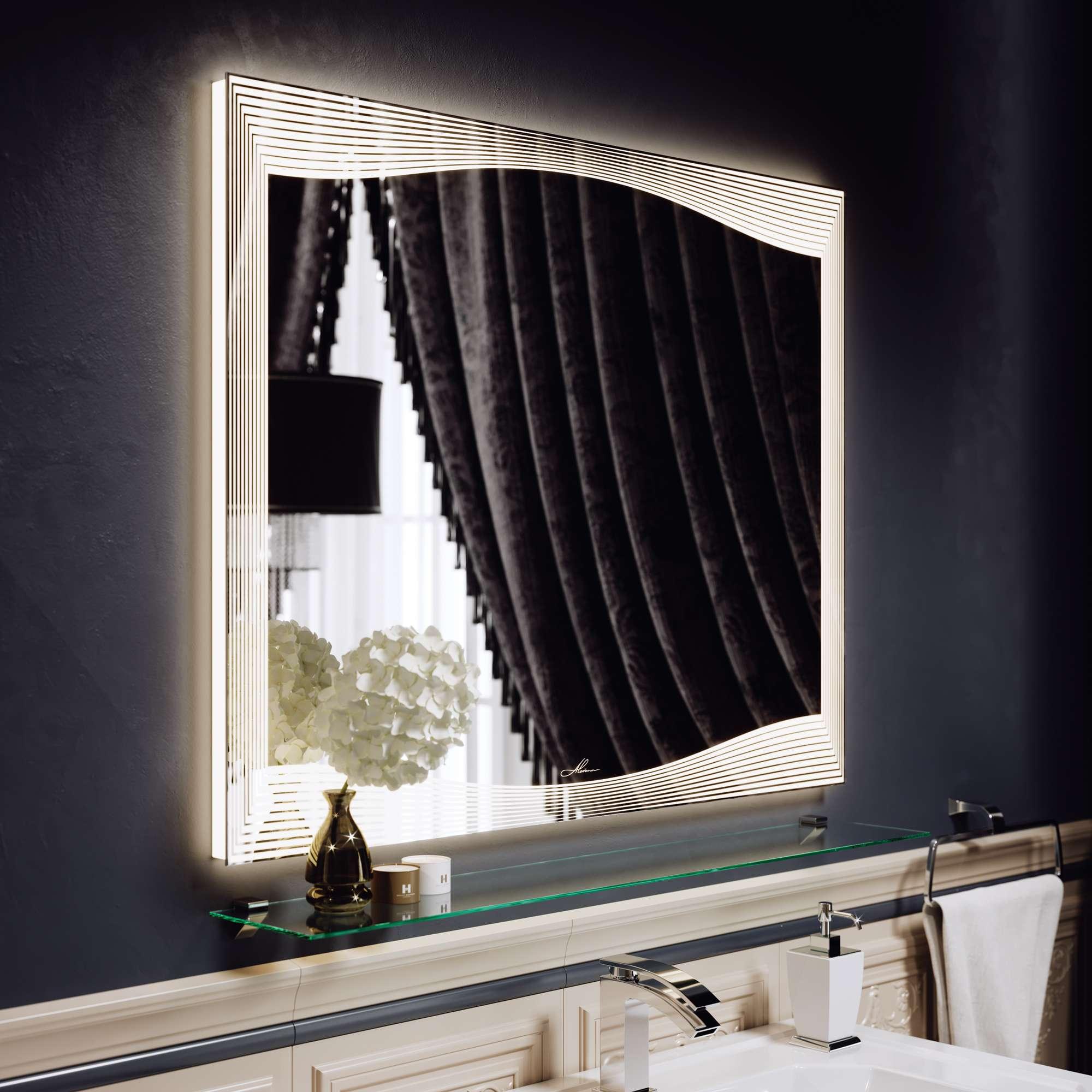 Зеркало с подсветкой Monaco 80 +12 200 руб.