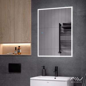 Зеркальный шкаф Rita 60 белый