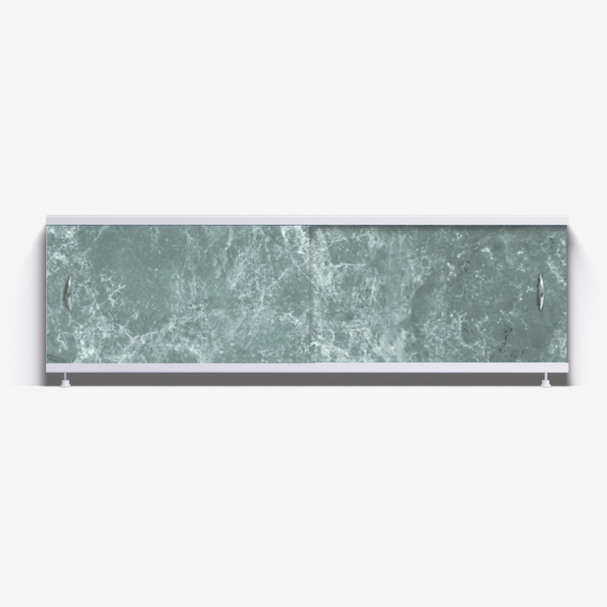 Экран под ванну Классик 150 темно-зеленый мрамор