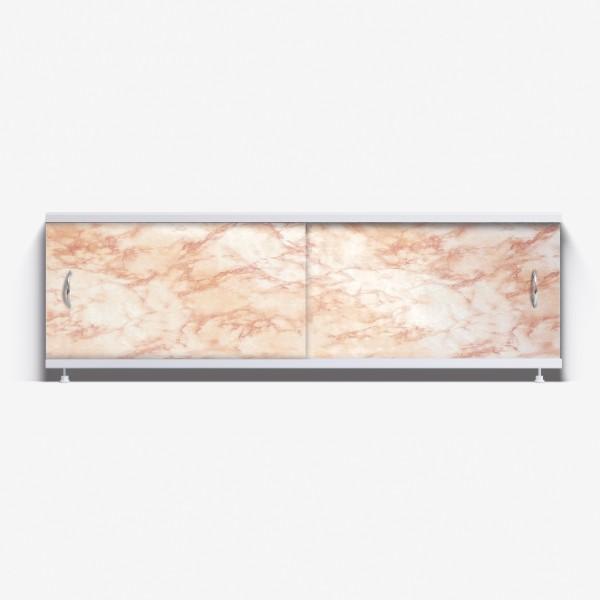 Экран под ванну Классик 150 светло-коричневый мрамор