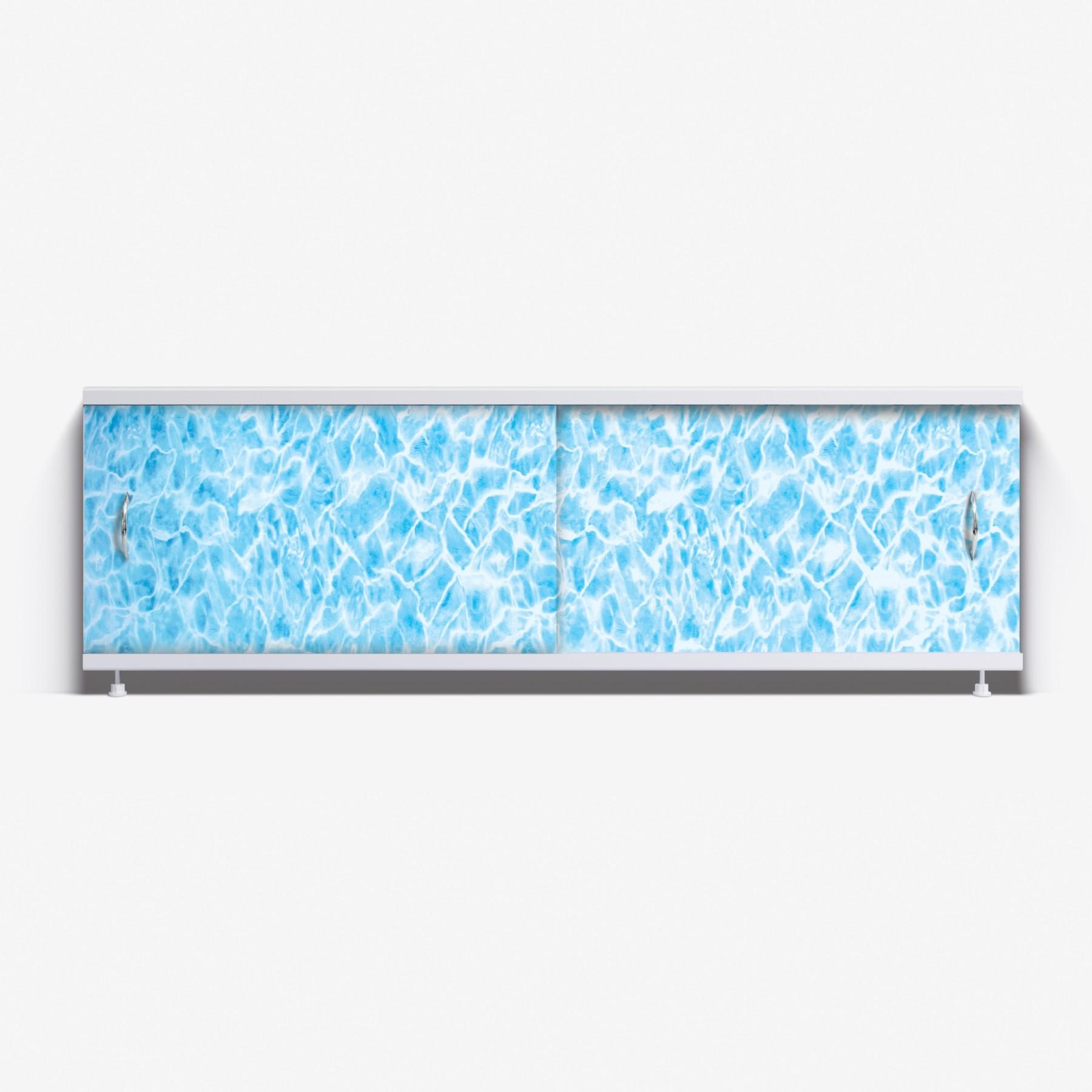 Экран под ванну Классик 150 синий мрамор