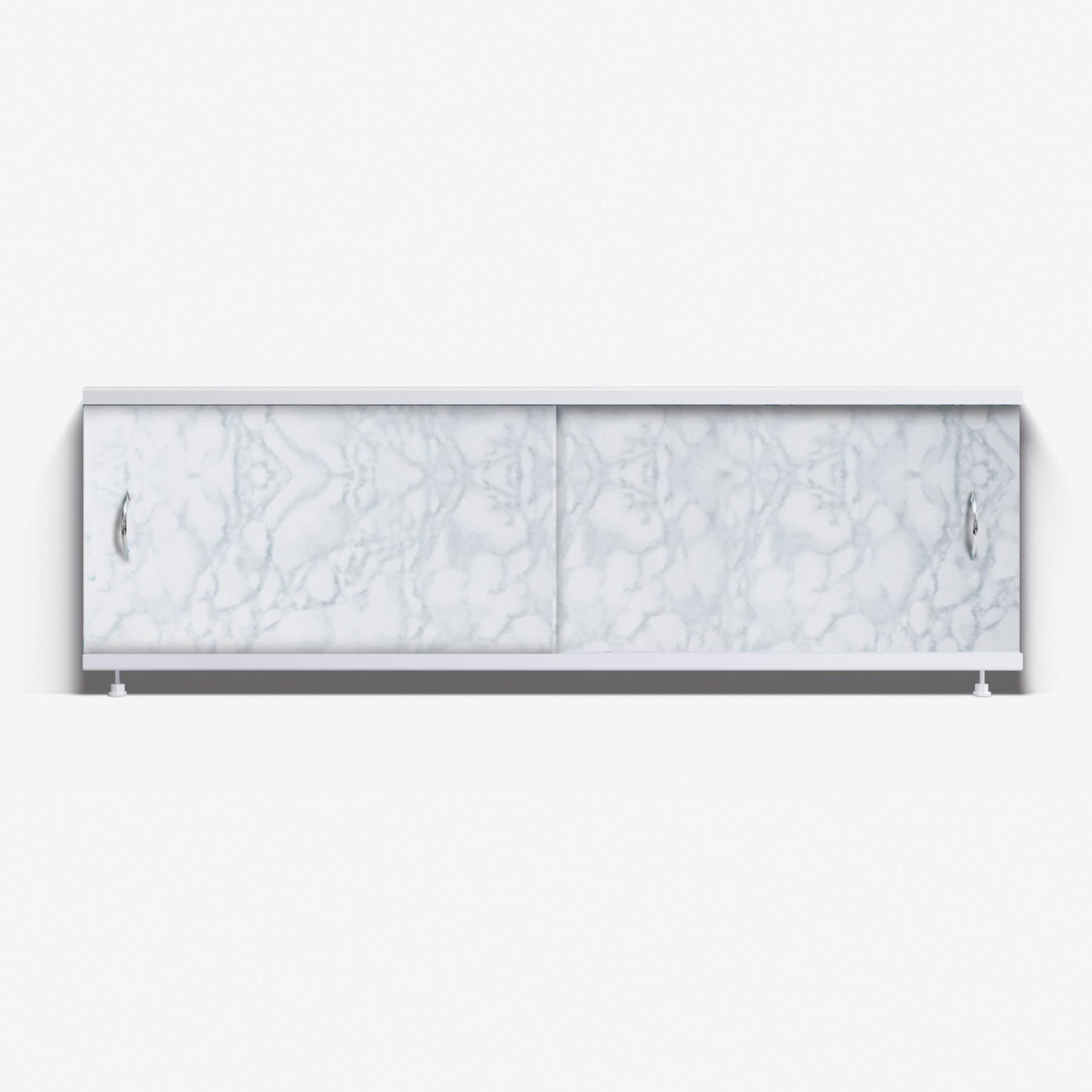 Экран под ванну Классик 170 светло-серый мрамор