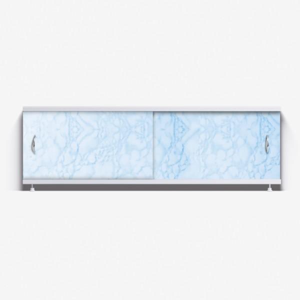 Экран под ванну Классик 170 светло-голубой мрамор