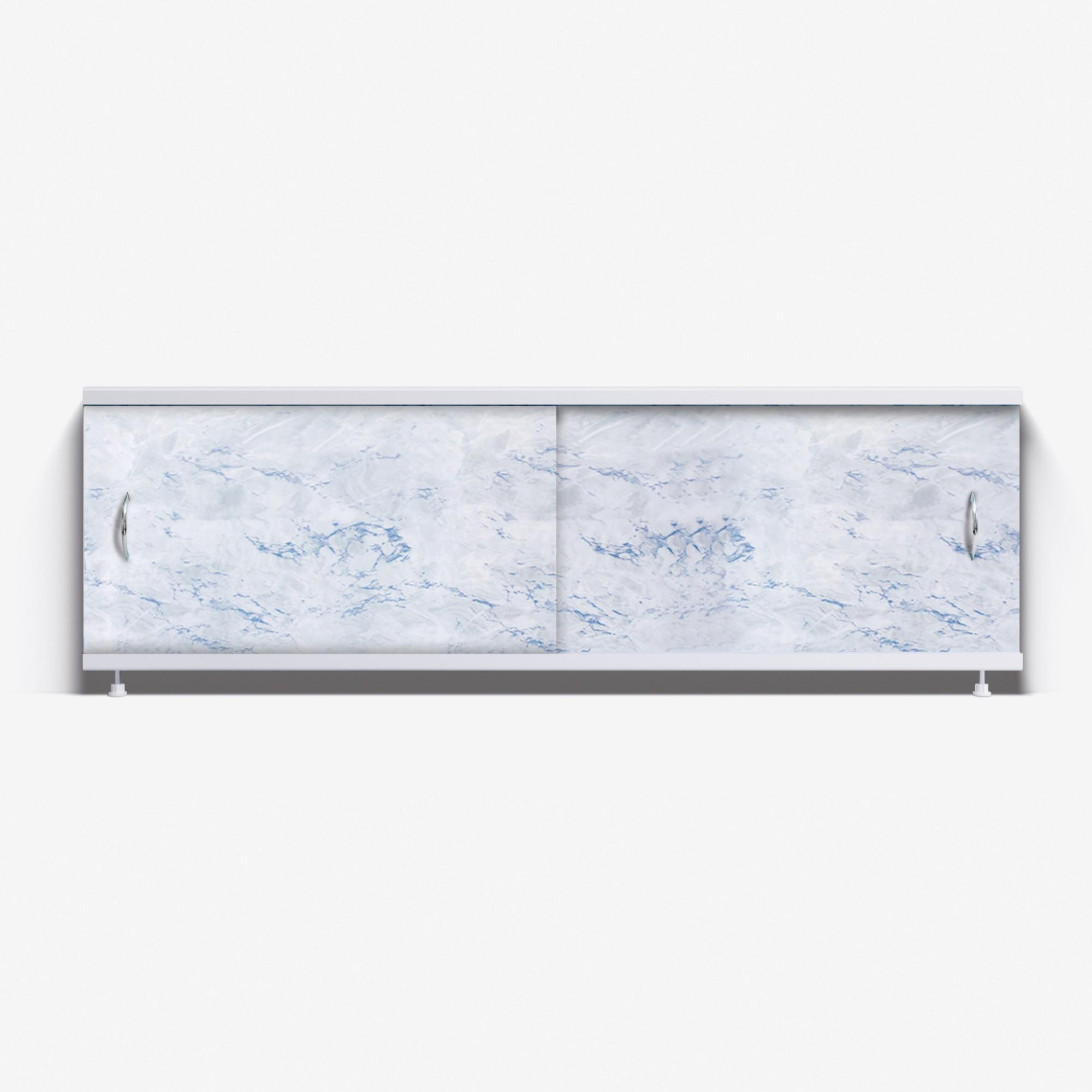 Экран под ванну Классик 150 серо-голубой мрамор