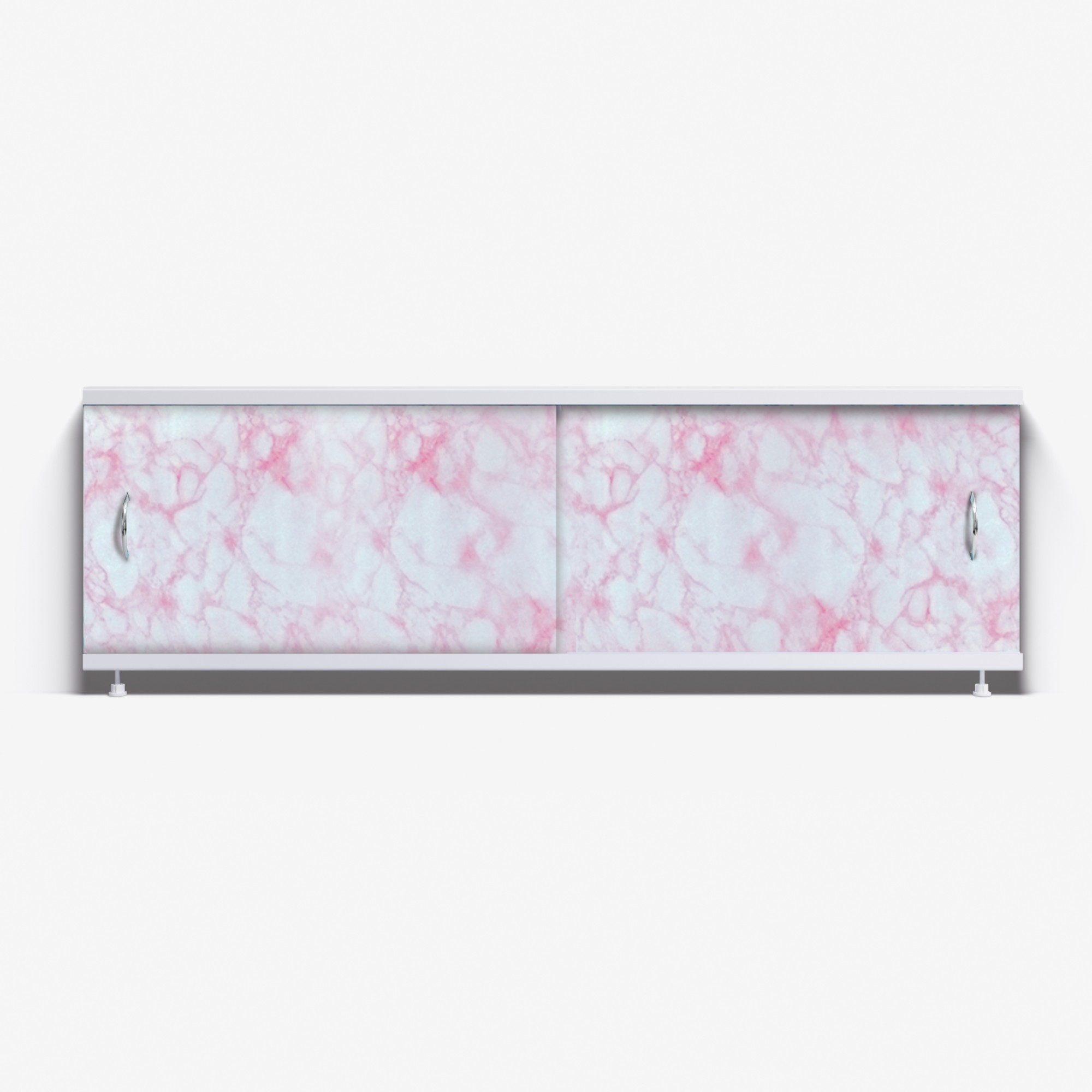 Экран под ванну Классик 150 нежно-розовый мрамор