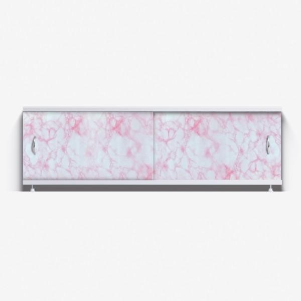 Экран под ванну Классик 170 нежно-розовый мрамор