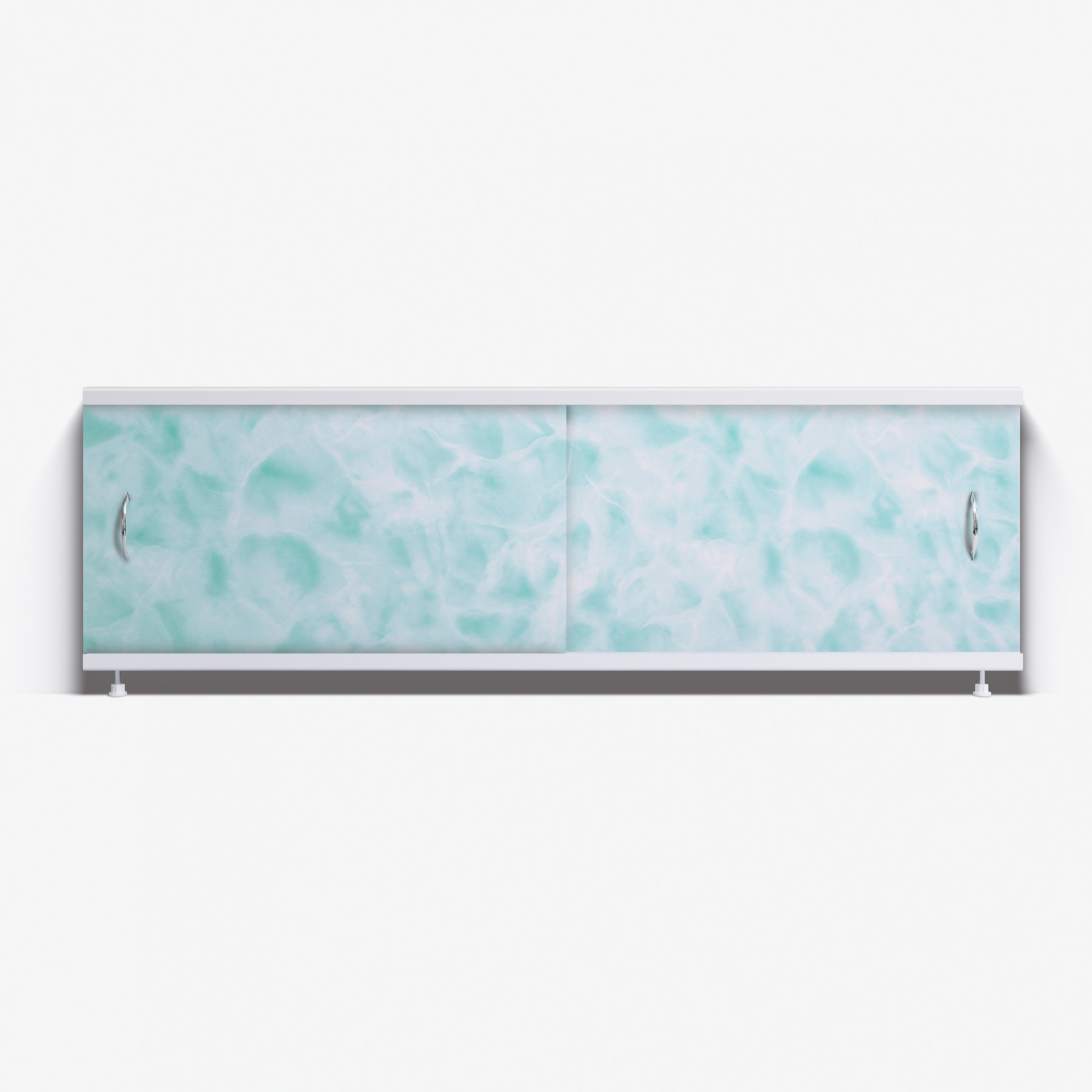 Экран под ванну Классик 150 салатовый мрамор