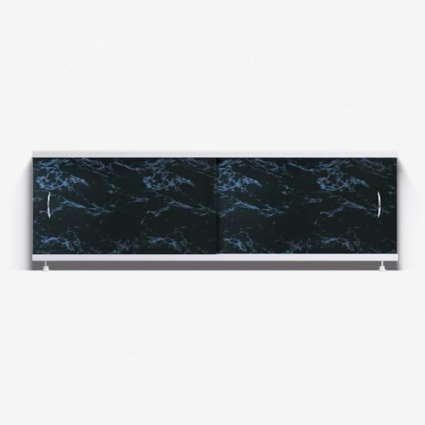Экран под ванну Классик 150 чёрный мрамор
