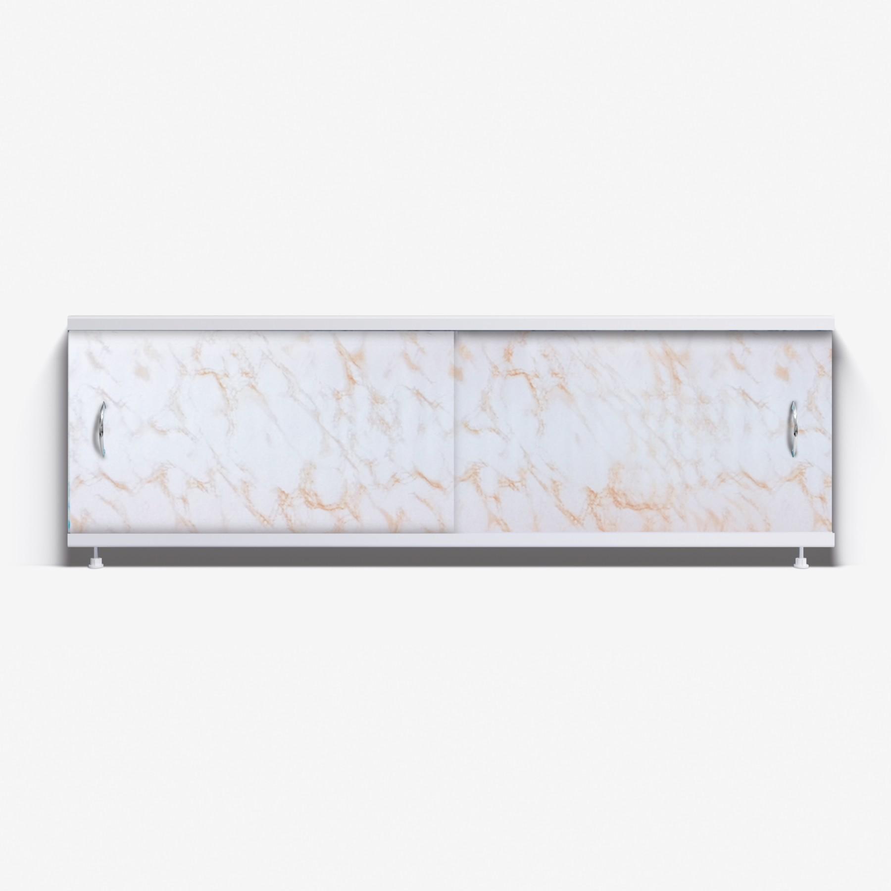 Экран под ванну Классик 170 коричневый камень
