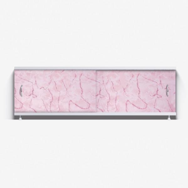 Экран под ванну Классик 150 розовый мрамор