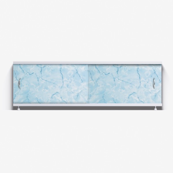Экран под ванну Классик 170 голубой мрамор