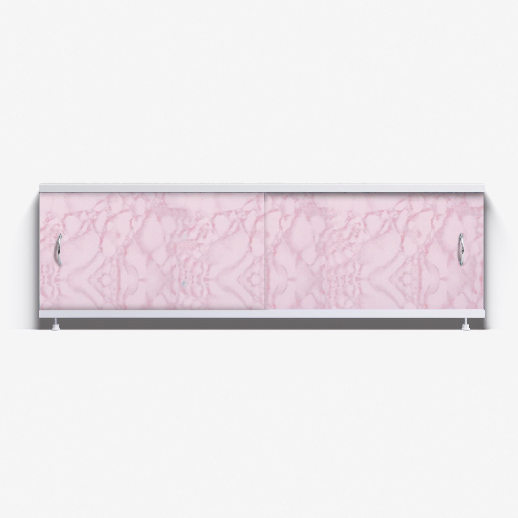 Экран под ванну Классик 170 розовый закат