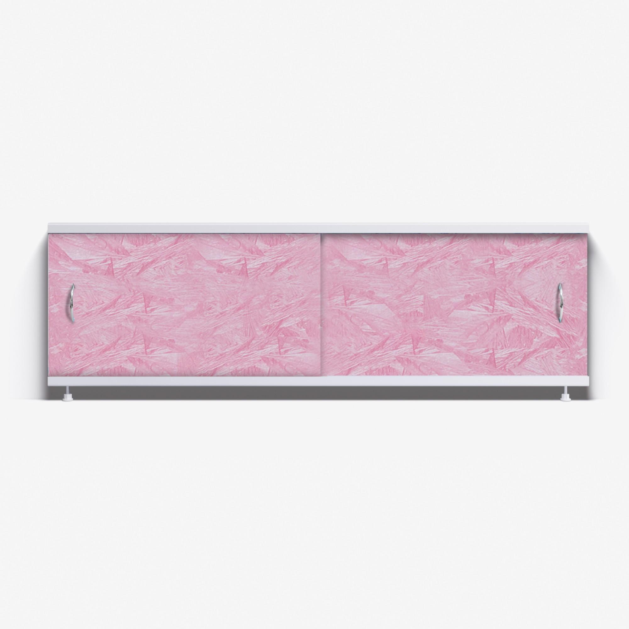 Экран под ванну Классик 150 розовый мороз