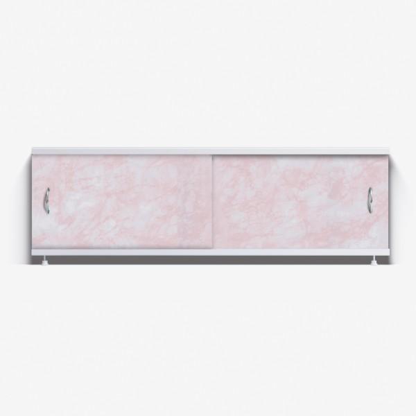 Экран под ванну Классик 150 розовый глянец