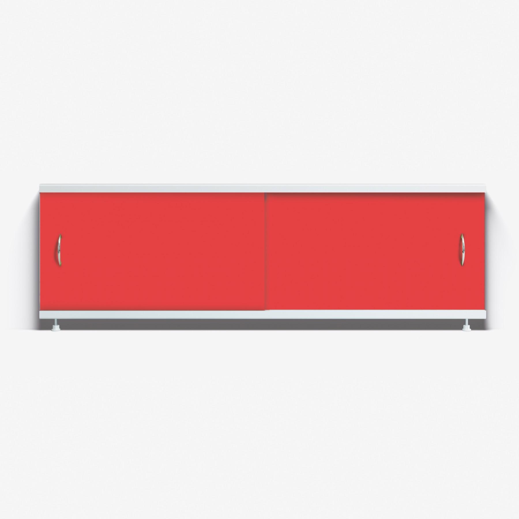 Экран под ванну Классик 170 красный