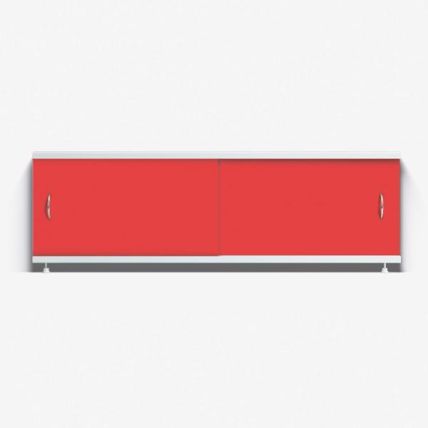 Экран под ванну Классик 150 красный