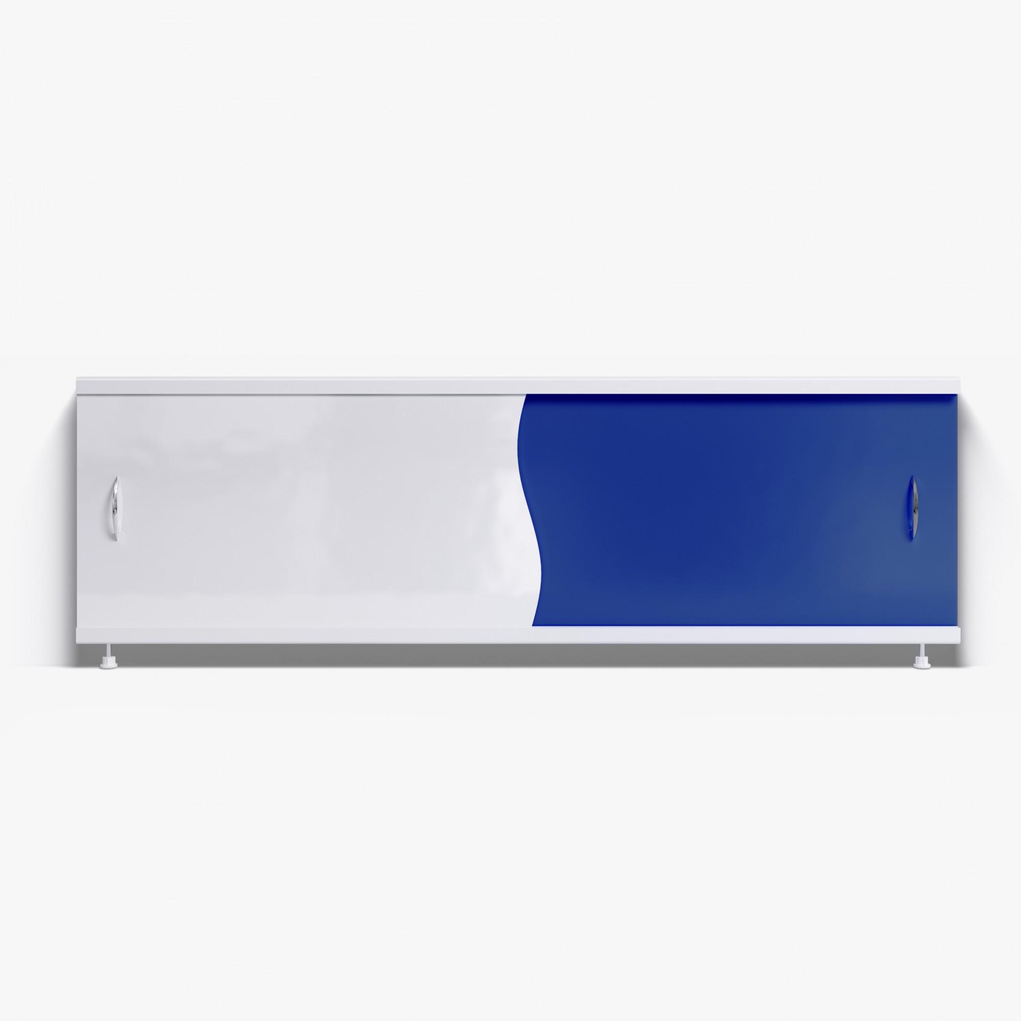Экран под ванну Комби 170 синий