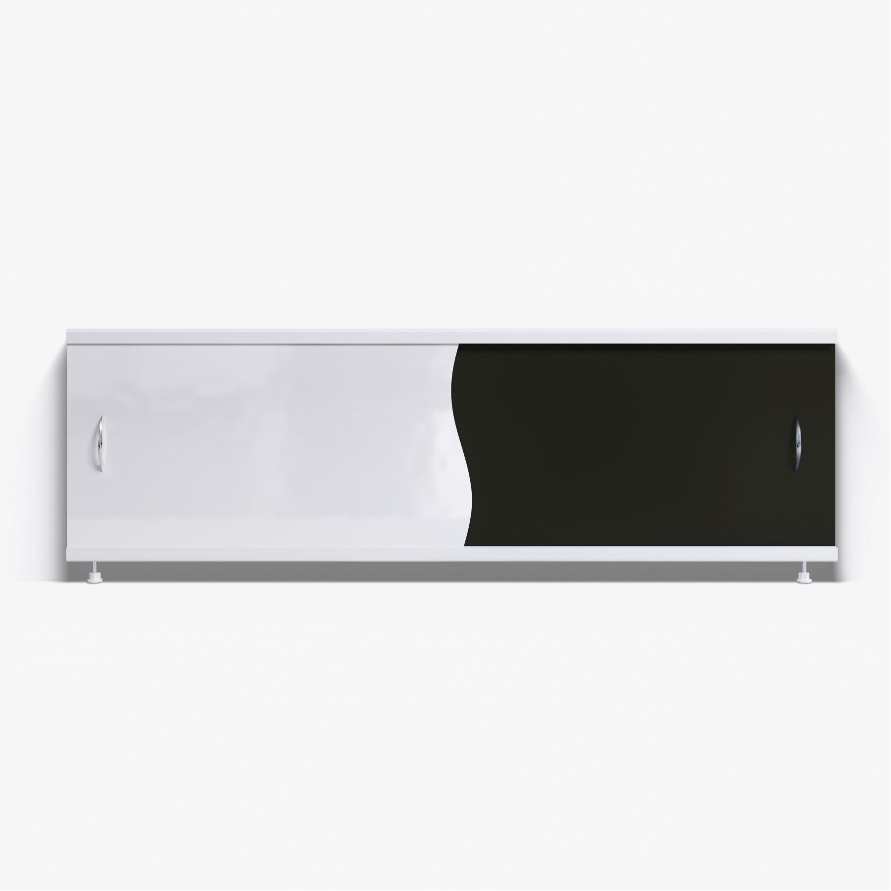 Экран под ванну Комби 150 черный