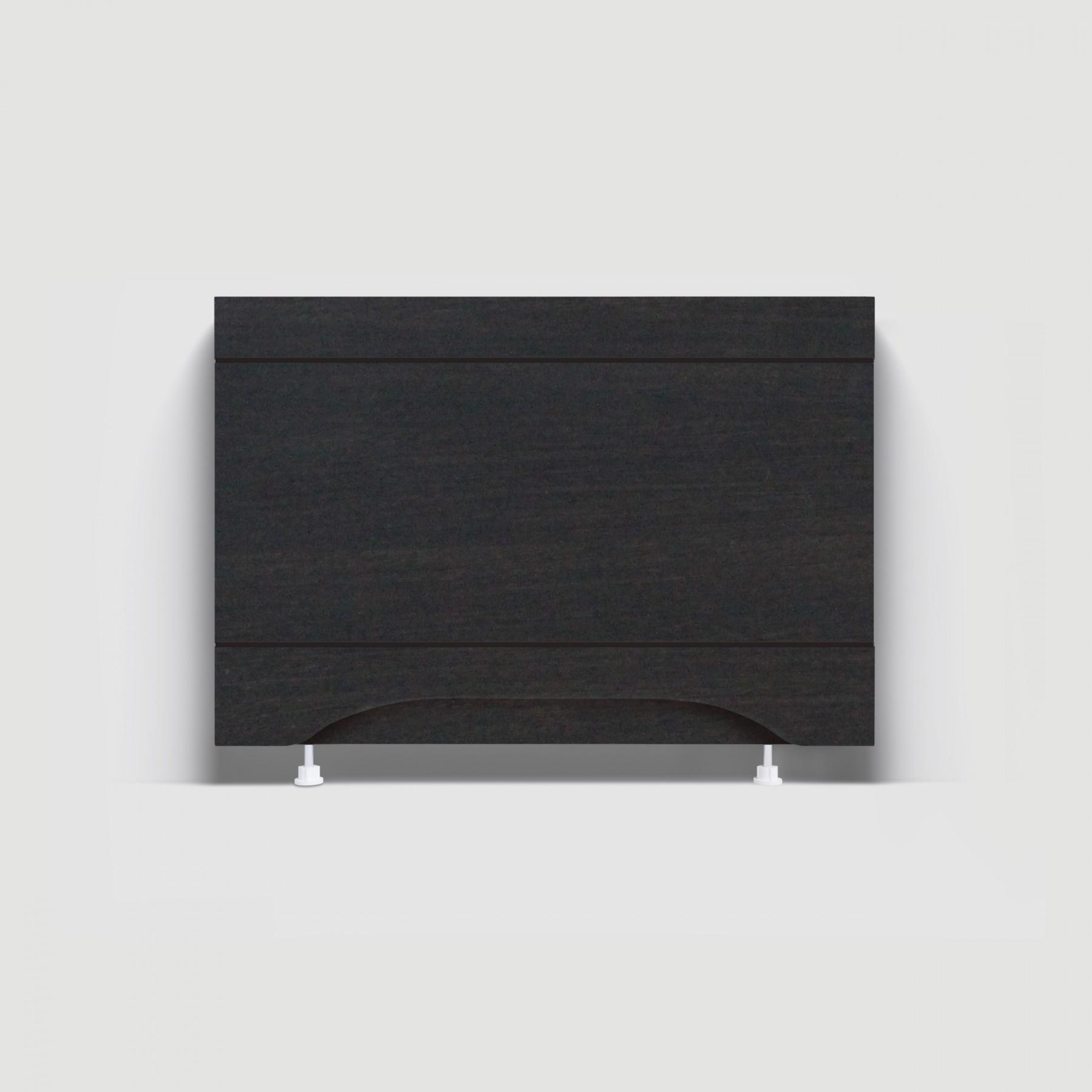 Экран под ванну торцевой 75 см МДФ, цвет венге