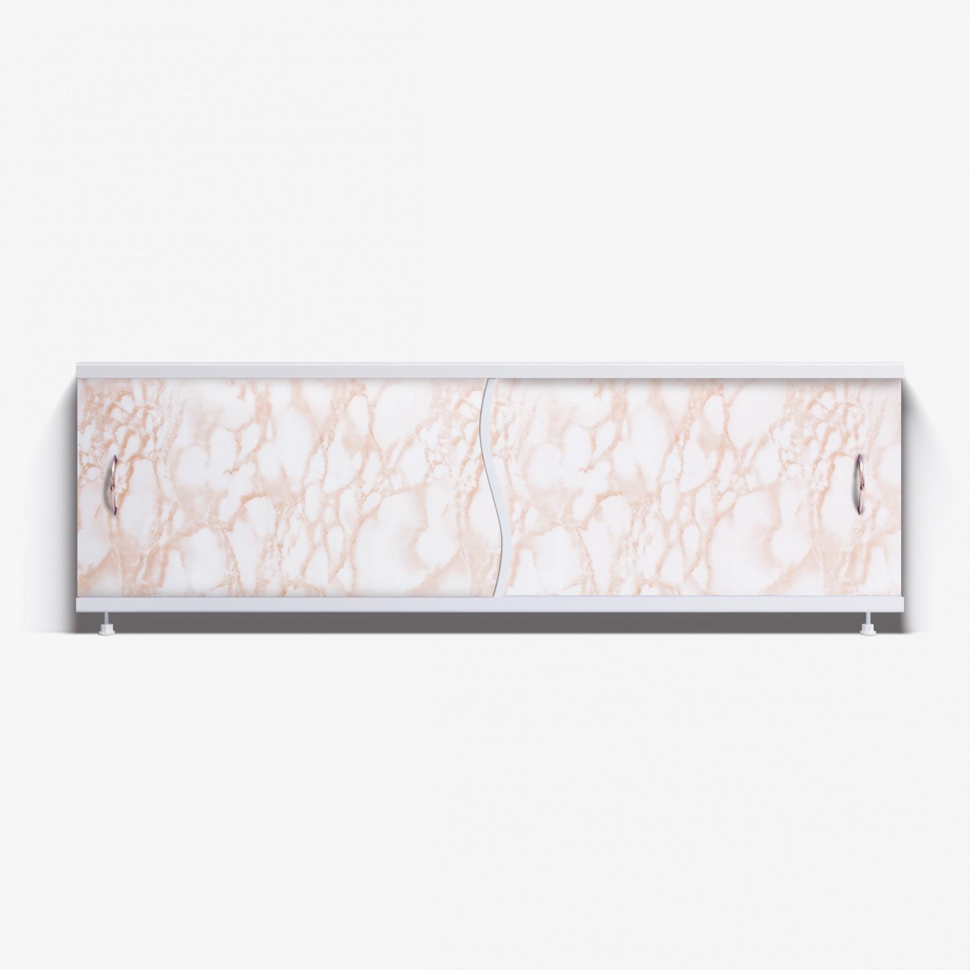 Экран под ванну Премьер 170 кремовый мрамор
