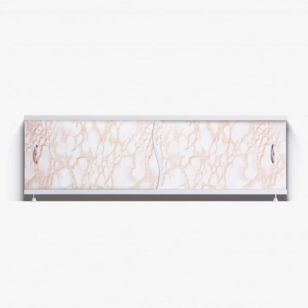 Экран под ванну Премьер 150 кремовый мрамор