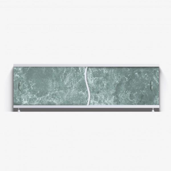 Экран под ванну Премьер 150 темно-зеленый мрамор