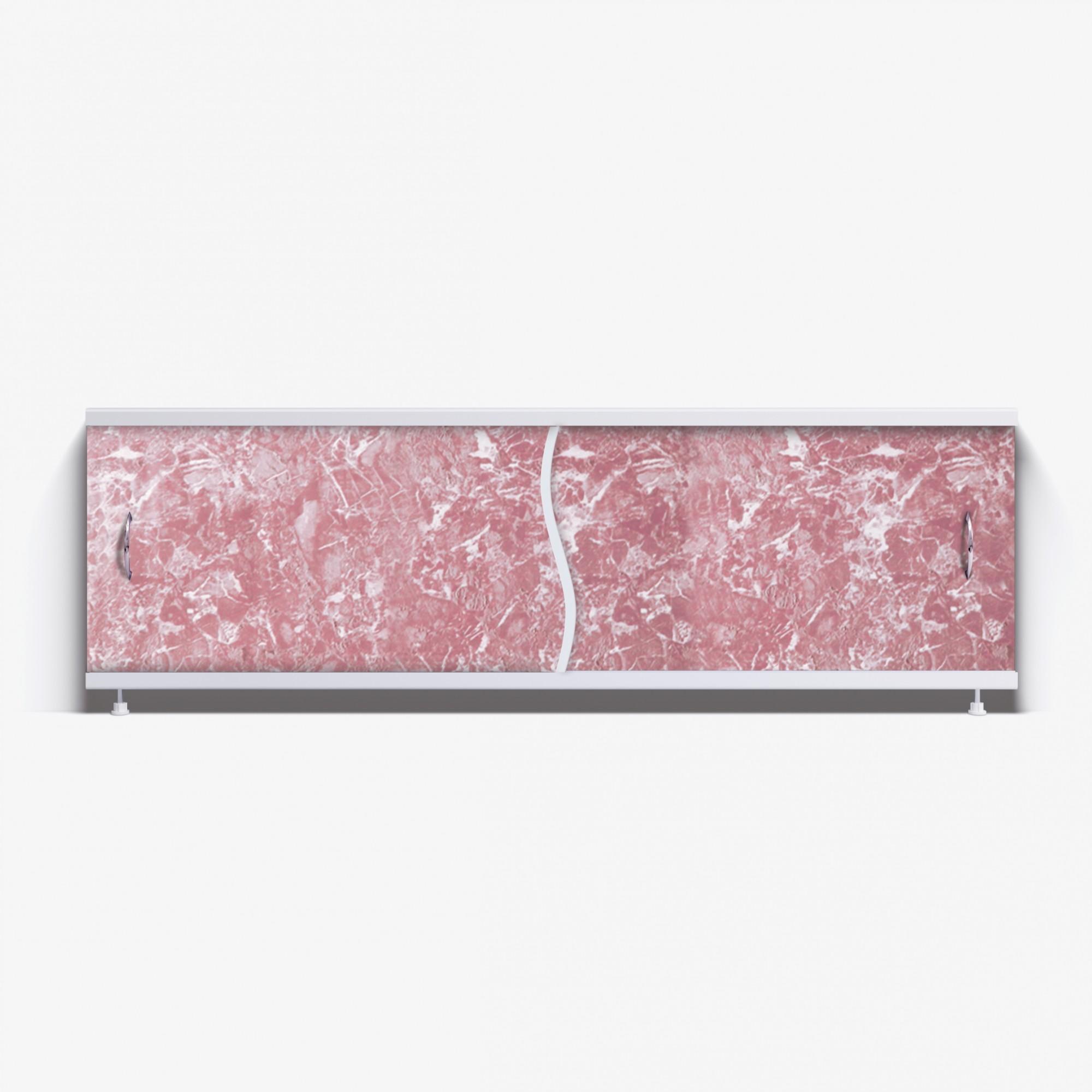 Экран под ванну Премьер 150 темно-коричневый мрамор