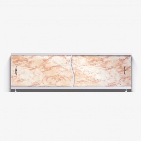 Экран под ванну Премьер 170 светло-коричневый мрамор