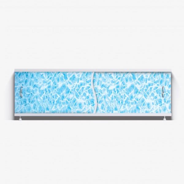 Экран под ванну Премьер 170 синий мрамор