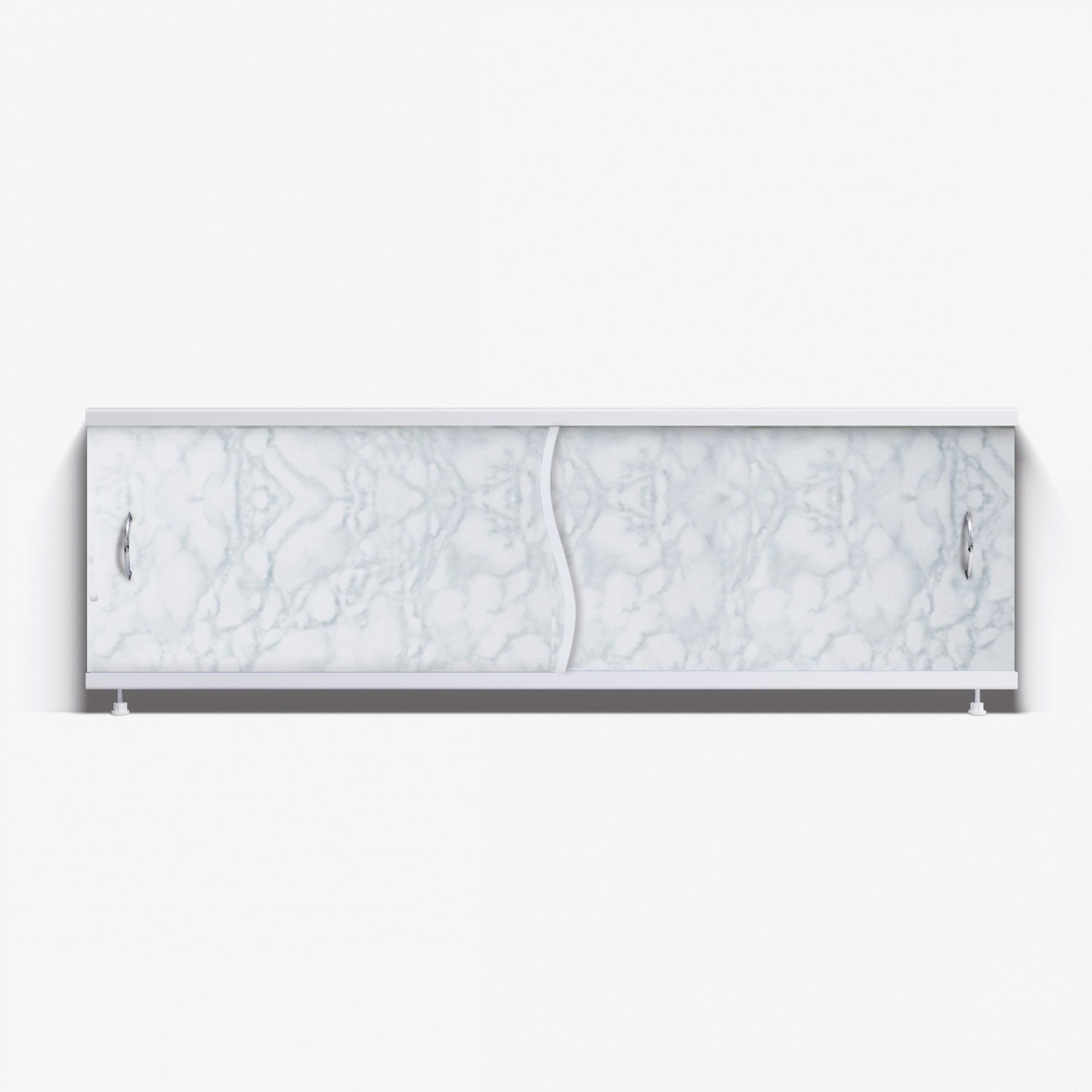 Экран под ванну Премьер 170 светло-серый мрамор