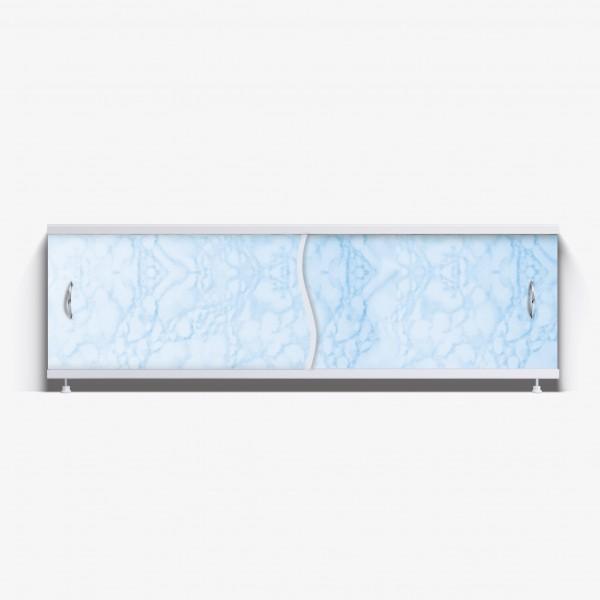 Экран под ванну Премьер 170 светло-голубой мрамор
