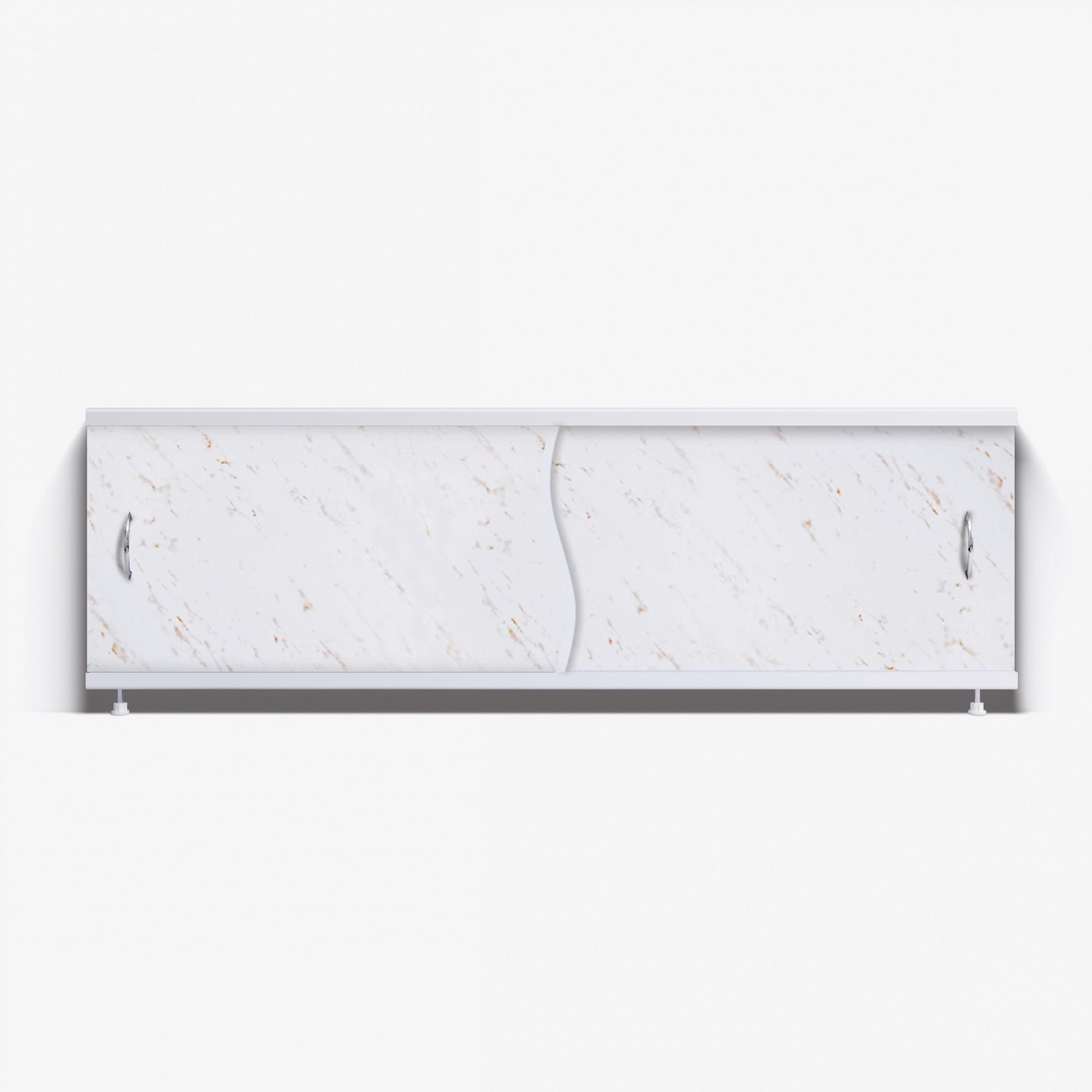 Экран под ванну Премьер 170 бежевые облака