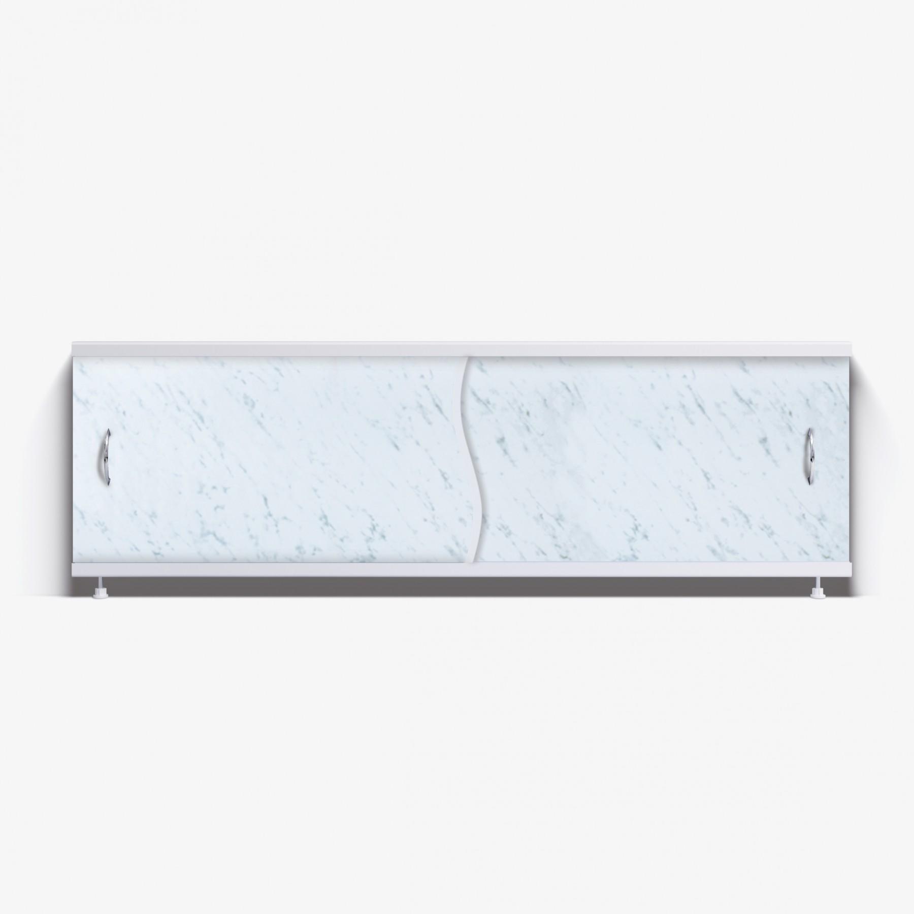 Экран под ванну Премьер 170 серые облака