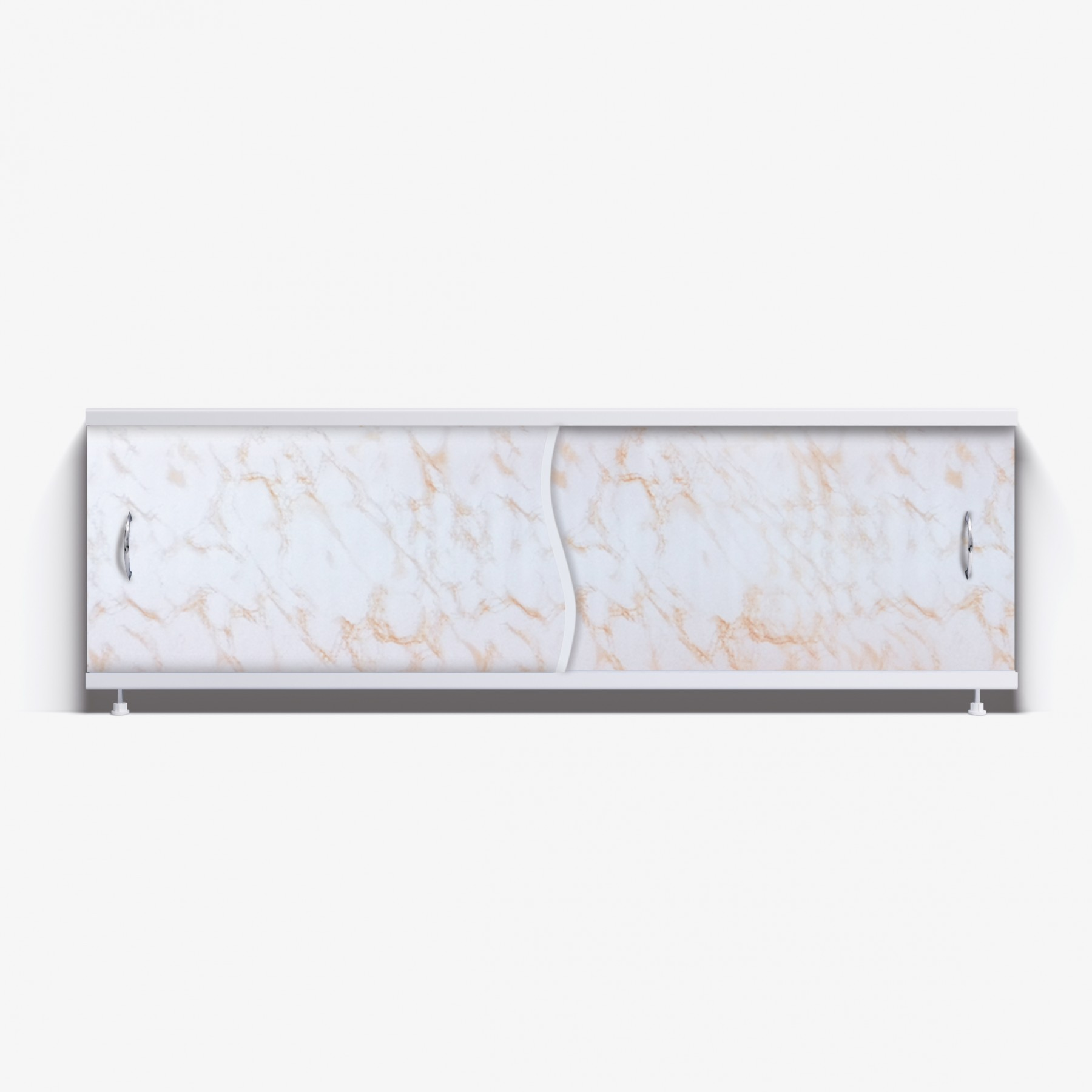Экран под ванну Премьер 150 коричневый камень